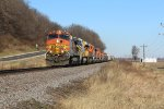 BNSF 4301 and 8 more unit's power a H-GALSTL.