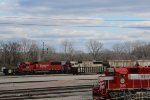 CP 6249 Sits with Soo 6027 at the TRRA Madison yard.