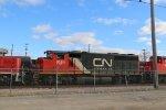 CN 9584 Roster shot.