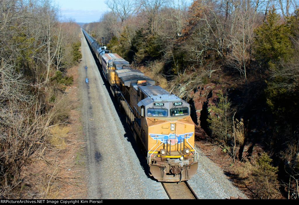 UP 5659 CSX Train K602 Ethanol Loads