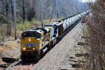 UP 8717 CSX Train K139 Crude Oil Empties