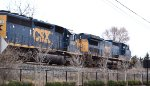 CSX Oil Train at Columbus, Ohio