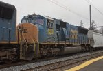 CSX SD70MAC #4818 on Q438