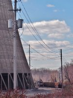 Unit Coal train arrives at Pennsylvania Power & Light's Martins Creek Generating Station
