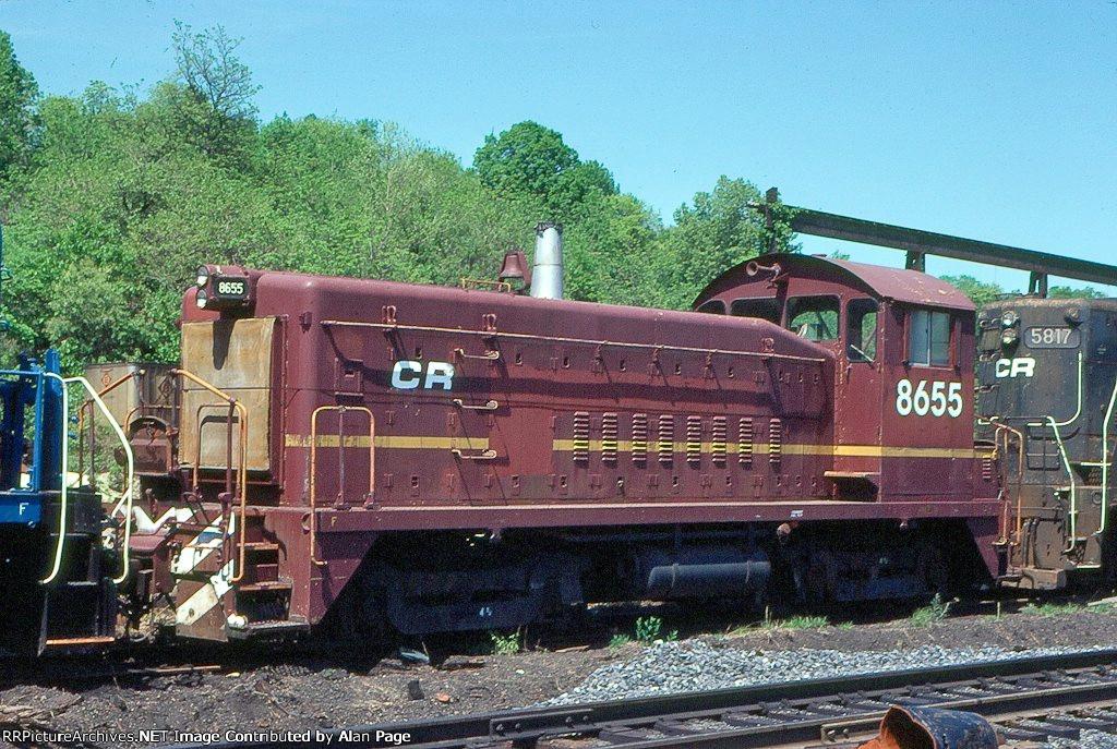 CR SW8m 8655 (ex-LV 128)