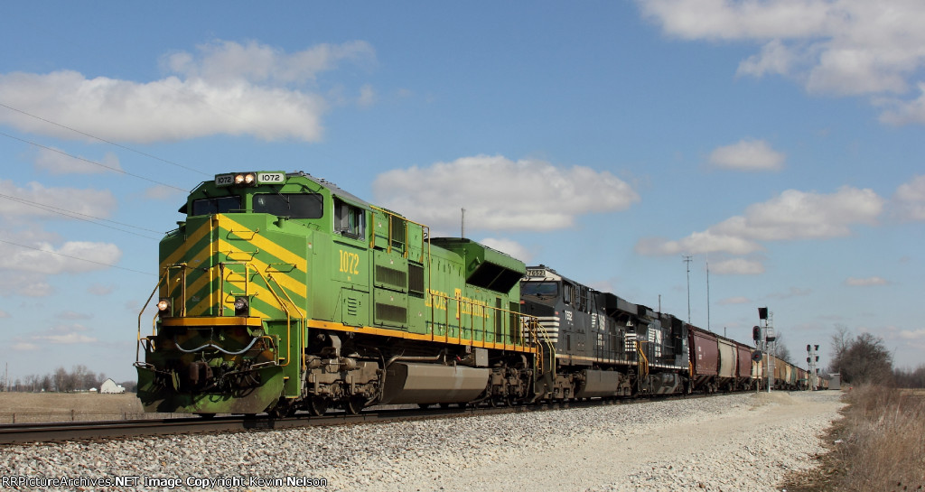 NS 1072 SD70ACe Illinois Terminal