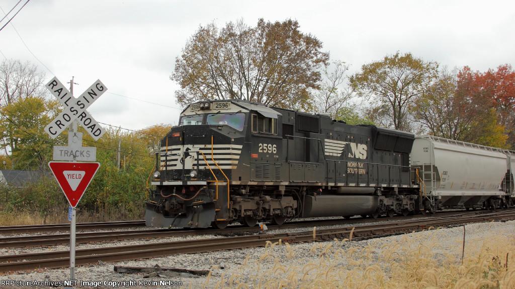 NS 2596 SD70M