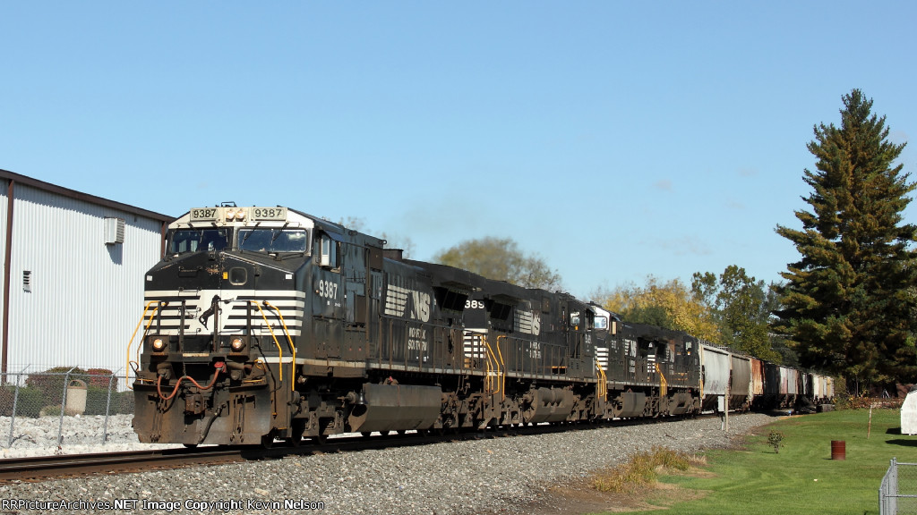 NS 9387 C40-9W