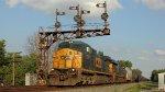 CSX 7305 C40-8W ex Conrail