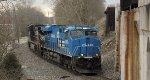 NS 8098 ES44AC  Conrail Heritage