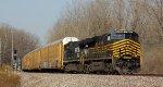 NS 8100 ES44AC  NKP Heritage