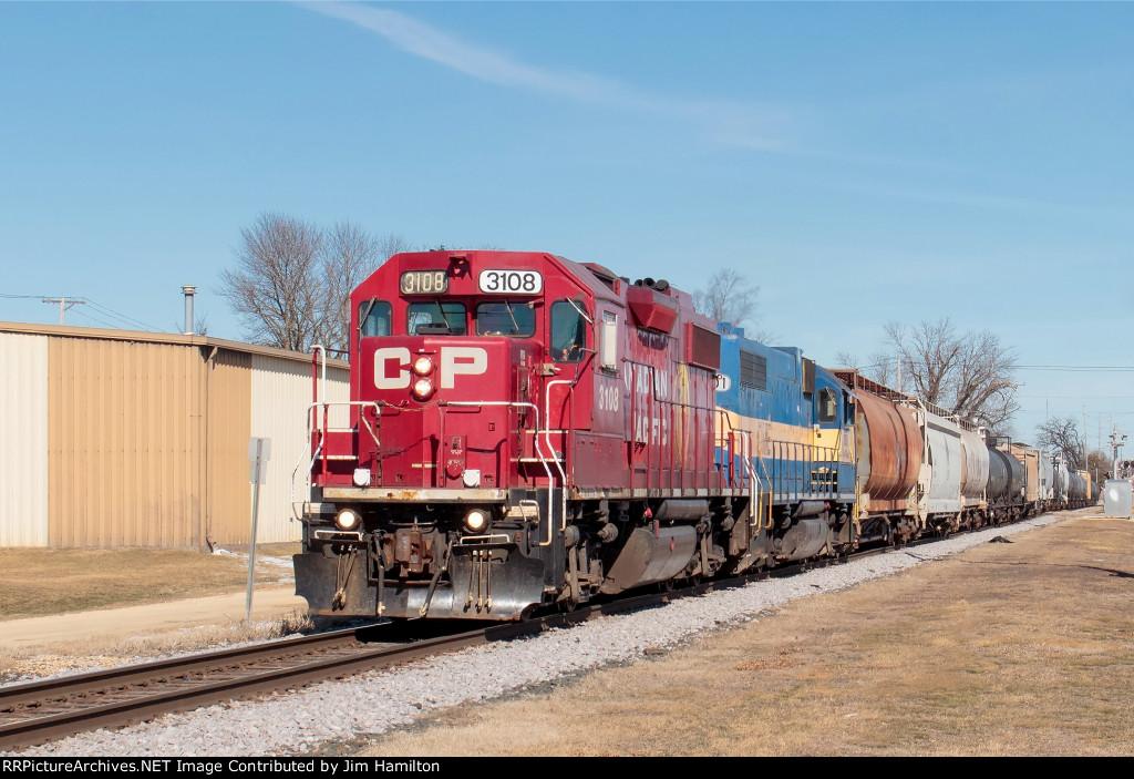 CP 3108 South