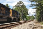 CSX 2386 and GP40-2 6986 layover