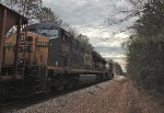 CSX ES40DCs 5214 and 5340 layover