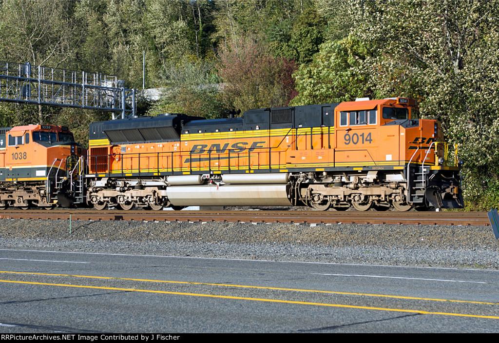 BNSF 9014