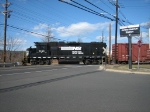 NS 5285 crossing NJ-91