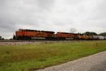 BNSF 7458, 8139, UP 4963
