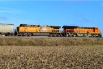 UP 5588 and BNSF 3854
