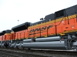 Side detail of BNSF 9386