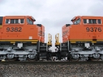 BNSF 9382 and 9376
