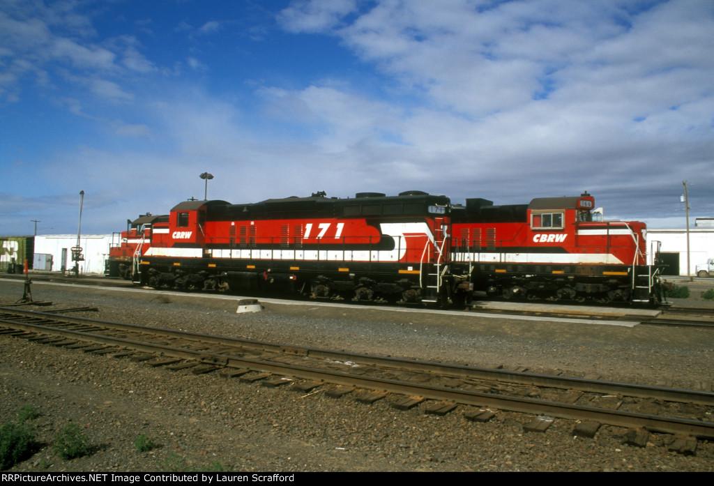 CBRW 171 and 166