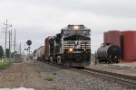 NS 9243 & 9129 head down the Marion Branch with 19K bound for Decatur, IL