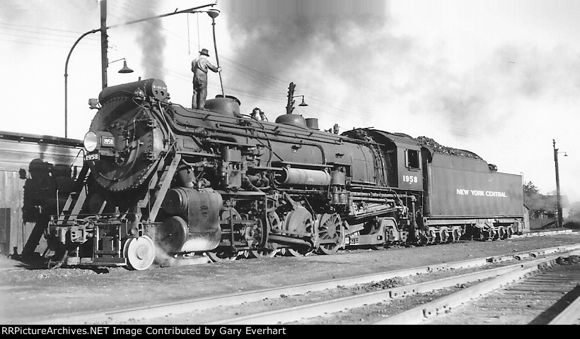 NYC 2-8-2 #1958 - New York Central