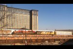 UP and KCS By Michigan Central Station