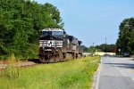 62R power sitting at the south siding at Pacolet