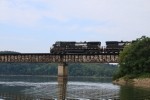 NS 9273 on 744 crosses the French Broad River/Douglas Lake
