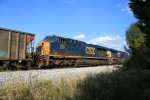 CSX 856 on coal train
