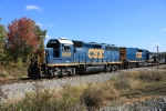 CSX 6958 on local crosses Westcott Blvd