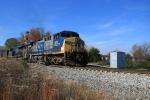 CSX 305 southbound coal train at Westcott Blvd.