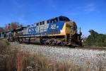CSX 305 on coal train at Westcott Blvd