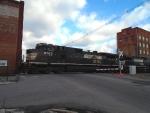 NS 9763 leads NS 37Q across Cumberland St.