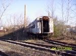 Amtrak passenger coach