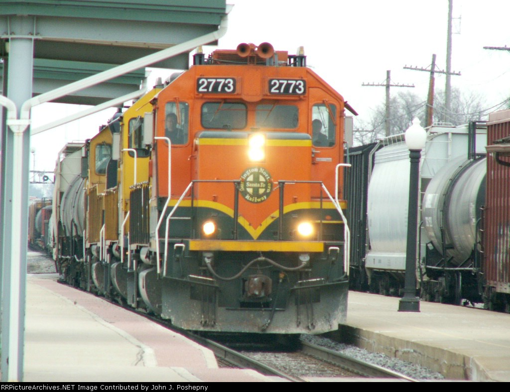 BNSF 2773 and 2770 and one other unit