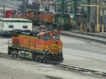 BNSF Power at the Fueling Rack