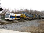 NJT 3511 and CSX 117