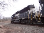 NS 4616 diverging on the the Stroudsburg secondary