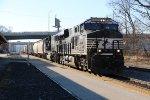 NS 8082 Leads a Cp train east into La Crosse Wi.