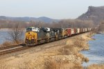 CSX 3108 Leads the daily NTWGAL on the A U R O R A  Sub.