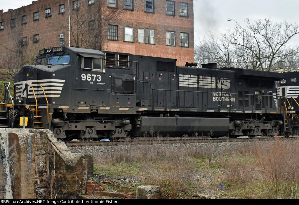 NS 9673, GE D9-44CW