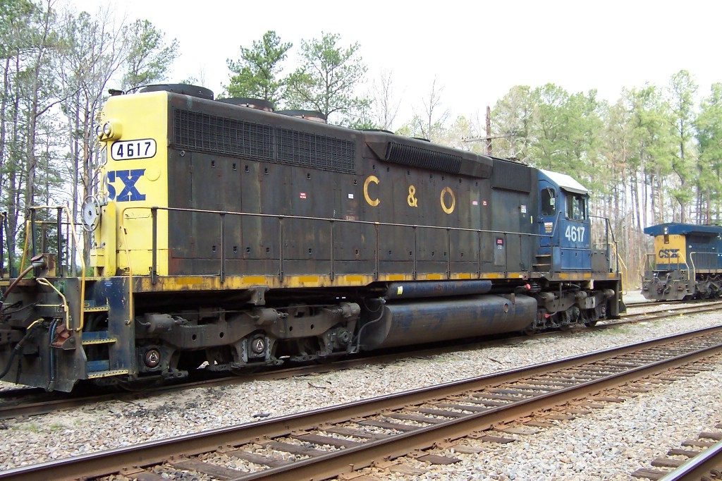 The C&O Stares down the newer GE