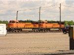 BNSF 6136 & 6121