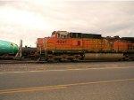 Westbound grain train DPU