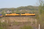 Soutbound Intermodal Train