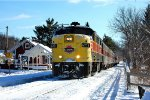 CVSR 6771 looks good with some snow on her.