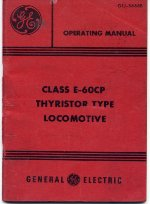 Front cover of operating manual No. GEJ-5688B