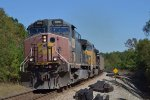 CSX Coal train with an ex sp ac4400